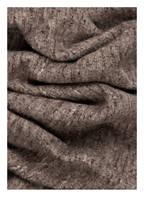 DARLING HARBOUR Bouclé-Schal , Farbe: GRAU/ DUNKELBRAUN (Bild 1)