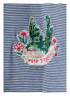 PIP studio Lounge-Shirt, Farbe: DUNKELBLAU/ WEISS (Bild 1)