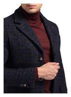 BOB Mantel GASOL, Farbe: BLAU/ DUNKELORANGE KARIERT (Bild 1)