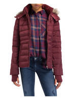 Calvin Klein Jeans Daunenjacke, Farbe: DUNKELROT (Bild 1)