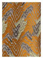 STEFFEN SCHRAUT Jacquard-Mantel , Farbe: ORANGE/ SILBER/ HELLGRÜN (Bild 1)