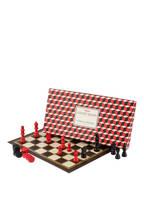 Ridley's GAMES Spiele-Set: Schach und Dame, Farbe: SCHWARZ/ ROT (Bild 1)