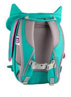 Affenzahn Rucksack ELUISE EULE, Farbe: TÜRKIS/ MINT (Bild 1)