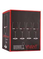 RIEDEL 4er-Set Weingläser VIVANT RED WINE, Farbe: TRANSPARENT (Bild 1)