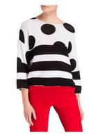 Princess GOES HOLLYWOOD Pullover, Farbe: SCHWARZ/ WEISS (Bild 1)