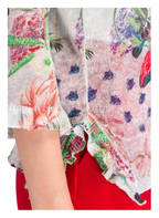 Princess GOES HOLLYWOOD Feinstrickpullover aus Leinen, Farbe: HELLBLAU/ ROSA/ GRÜN (Bild 1)