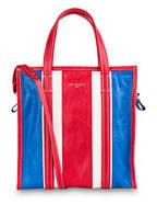 BALENCIAGA Shopper BAZAR SMALL, Farbe: ROT/ WEISS/ BLAU (Bild 1)