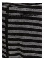 reima Leggings HYTTE mit Merinowolle, Farbe: GRAU/ SCHWARZ GESTREIFT (Bild 1)