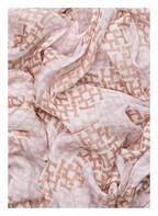HEMISPHERE Cashmere/Seide-Tuch, Farbe: CREME/ HELLLILA/ HELLBRAUN (Bild 1)