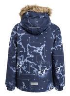 reima Outdoor-Jacke SKAIDI mit Kunstpelzbesatz, Farbe: NAVY (Bild 1)