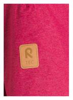 reima Parka INARI mit Kunstfellbesatz, Farbe: FUCHSIA MELIERT (Bild 1)