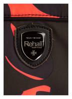 Rehall Skijacke ISABELLA mit abnehmbaren Kunstpelzbesatz, Farbe: NEONPINK/ SCHWARZ/ DUNKELLILA (Bild 1)