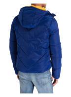 Superdry Steppjacke XENON mit Fleece-Futter, Farbe: BLAU (Bild 1)