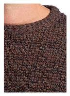 SELECTED Pullover JAMES, Farbe: BRAUN/ GRAU/ SCHWARZ (Bild 1)