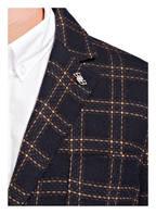 BOB Sakko Extra Slim Fit, Farbe: DUNKELBLAU/ BEIGE KARIERT (Bild 1)