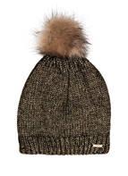 CAPO Mütze GLAMOUR, Farbe: GOLD/ SCHWARZ (Bild 1)