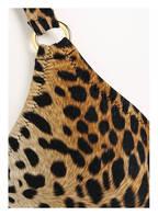 MELISSA ODABASH Triangel-Bikini MONTENEGRO, Farbe: BEIGE/ SCHWARZ/ BRAUN (Bild 1)