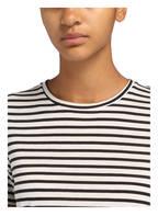 SET T-Shirt, Farbe: WEISS/ SCHWARZ GESTREIFT (Bild 1)