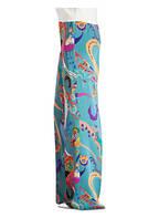 ETRO Marlenehose, Farbe: PETROL/ ORANGE/ PINK (Bild 1)