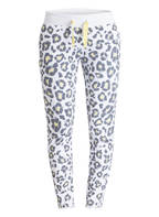 Juvia Sweatpants, Farbe: WEISS/ GRAU/ GELB (Bild 1)