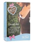 SUSA Dirndl-BH, Farbe: WEISS (Bild 1)