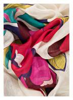 RENÉ LEZARD Tuch, Farbe: CREME/ PINK/ GRÜN (Bild 1)