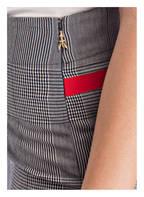 PATRIZIA PEPE Stiftrock, Farbe: DUNKELBLAU/ CREME KARIERT (Bild 1)