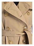 BURBERRY Trenchcoat KENSINGTON LONG, Farbe: HONEY (Bild 1)