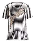 MARCCAIN T-Shirt , Farbe: 910 black&white (Bild 1)