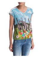 MARCCAIN T-Shirt, Farbe: 244 pink daisy (Bild 1)