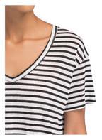 SET Leinenshirt, Farbe: SCHWARZ/ WEISS (Bild 1)