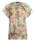 SET Bluse, Farbe: ECRU/ GRÜN/ GELB (Bild 1)