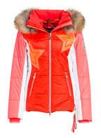 SPORTALM Skijacke ELLY, Farbe: ROT/ WEISS/ NEONPINK (Bild 1)