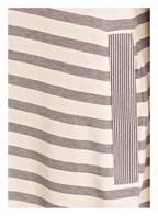 SCHIESSER Nachthemd, Farbe: WEISS/ GRAU GESTREIFT (Bild 1)
