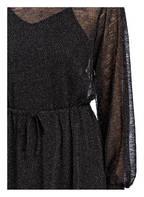 MOSS COPENHAGEN Midi-Kleid MILISA, Farbe: SCHWARZ/ SILBER (Bild 1)