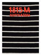 SCOTCH SHRUNK Longsleeve, Farbe: SCHWARZ/ WEISS (Bild 1)