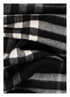 BURBERRY Cashmere-Schal, Farbe: SCHWARZ/ WEISS (Bild 1)
