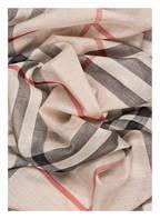 BURBERRY Schal , Farbe: BEIGE/ SCHWARZ/ ROT KARIERT (Bild 1)