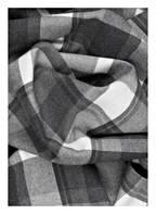 TOMMY HILFIGER Schal, Farbe: GRAU/ WEISS KARIERT  (Bild 1)