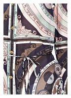 TORY BURCH Tunika BRIGITTE mit Seidenanteil, Farbe: DUNKELBLAU/ KHAKI/ WEISS (Bild 1)