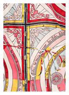TORY BURCH Tunika BRIGITTE mit Seidenanteil, Farbe: ROSA/ ROT/ WEISS (Bild 1)