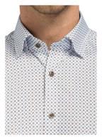 OLYMP Hemd Level Five body fit , Farbe: WEISS/ BRAUN (Bild 1)