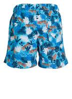 SUNUVA Badeshorts UV-Schutz UPF 50+, Farbe: HELLBLAU/ WEISS/ DUNKELBLAU (Bild 1)