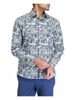 ETRO Hemd Tailored Fit, Farbe: WEISS/ TÜRKIS/ BLAU (Bild 1)