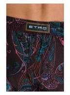 ETRO Badeshorts, Farbe: BRAUN/ ROSA/ TÜRKIS (Bild 1)