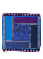 ETRO Einstecktuch , Farbe: NAVY/ LILA (Bild 1)