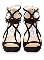 JIMMY CHOO Sandaletten LANCE 100, Farbe: SCHWARZ (Bild 1)