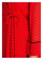 GANNI Wickelkleid MULLIN, Farbe: ROT/ SCHWARZ (Bild 1)