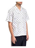 GUCCI Halbarm-Hemd Tailored Fit, Farbe: WEISS/ BLAU (Bild 1)