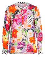 Princess GOES HOLLYWOOD Bluse, Farbe: WEISS/ SCHWARZ/ PINK (Bild 1)